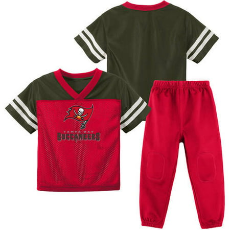 competitive price 5113f 9a64a NFL Tampa Bay Buccaneers Toddler Short Sleeve Top and Pant Set