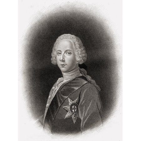 Charles Edwardthe Young Pretender Bonnie Prince Charlie 1720 1788 Engraved By M Page From An Original Picture By Vandeist In The Possession Of Earl Beauchamp From The Book The History Of Scotland Publ