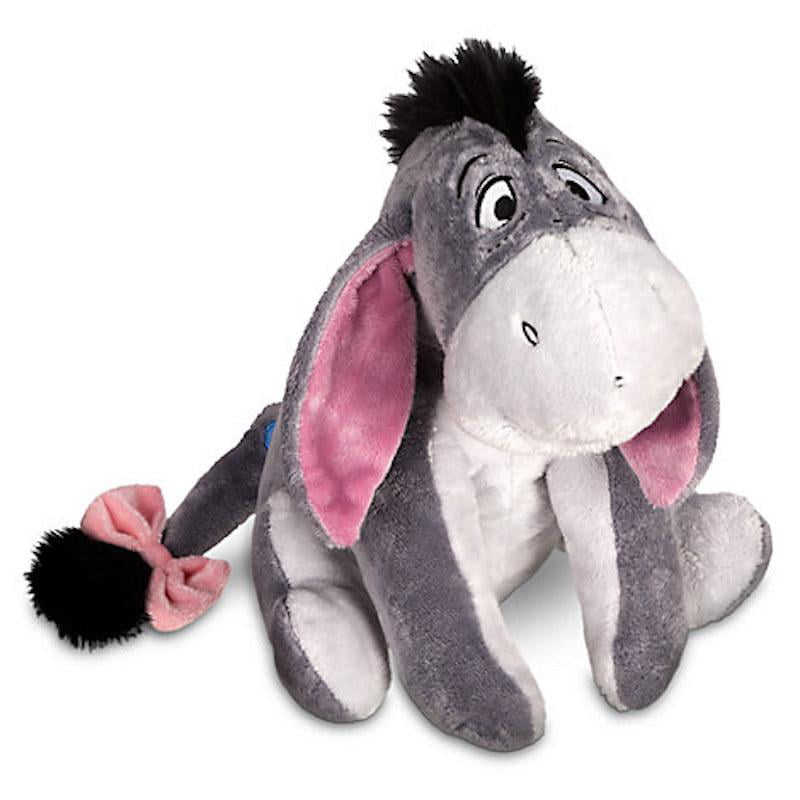 Disney Store Eeyore Plush Winnie the Pooh Medium 12'' Toy New With Tags by