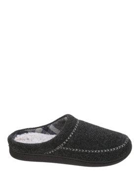 Dearfoams Women's Felt X-Stitch Clog Slippers