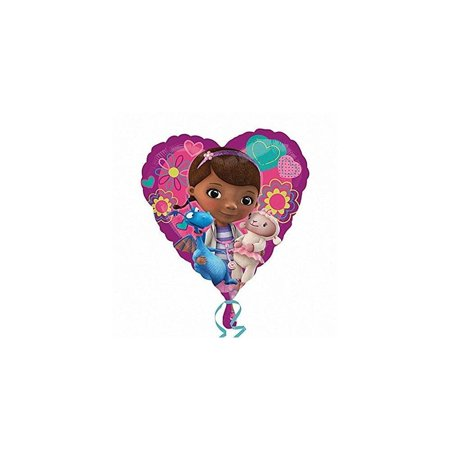 Anagram International HX Doc McStuffins Love Packaged Party Balloons, - International Party