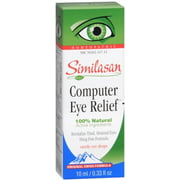 Similasan Computer Eye Relief Eye Drops 10 mL (Pack of 2)