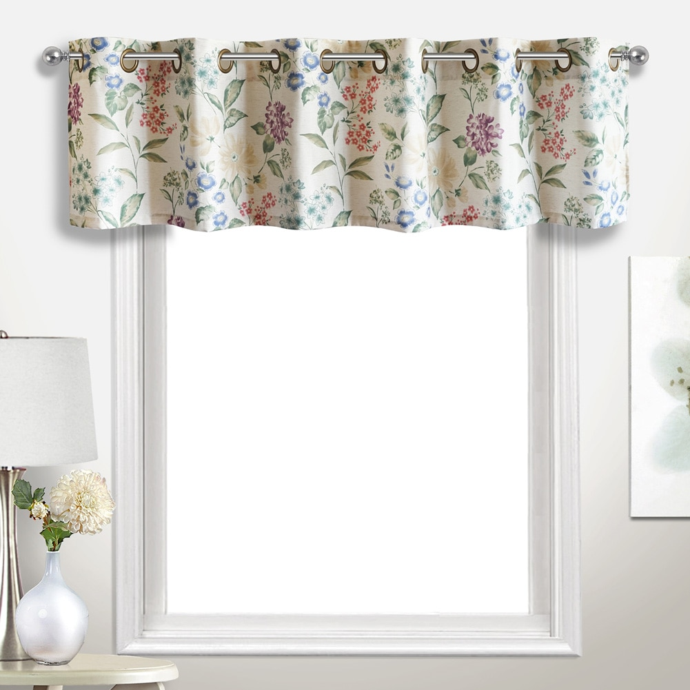 Christine 78 X 18 Window Curtain Extra Wide Valance Multi