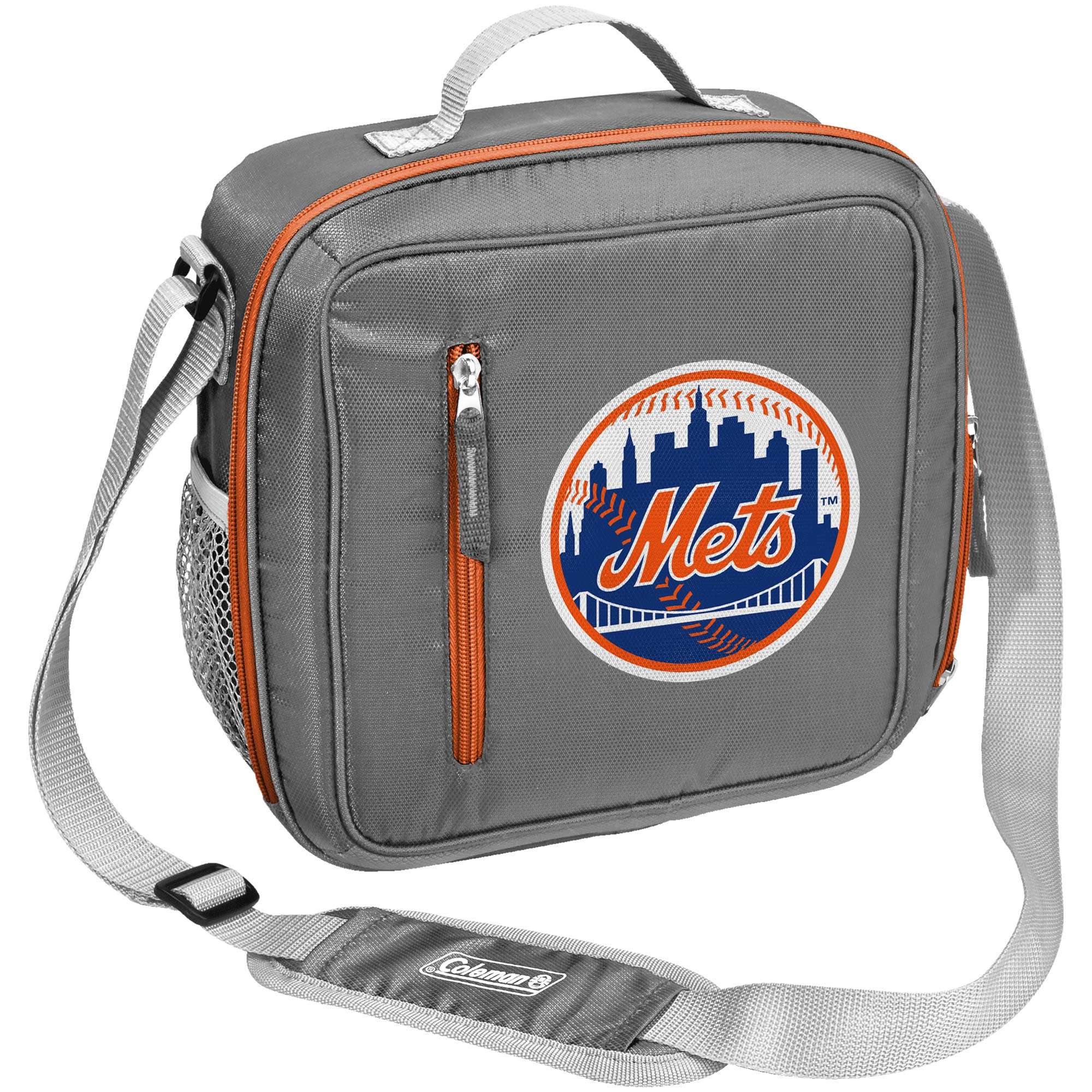 Coleman New York Mets Logo Messenger Cooler - No Size