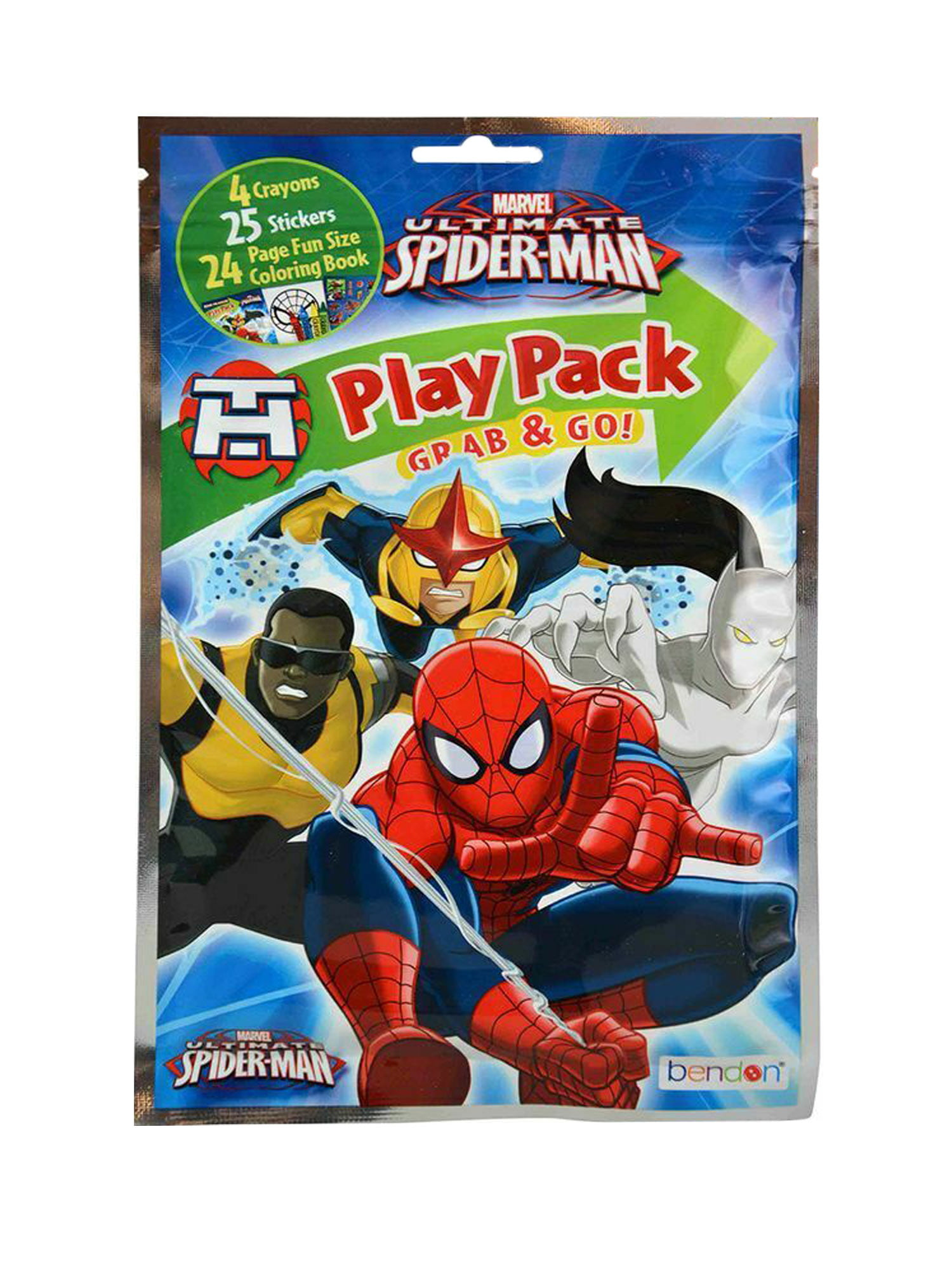 Marvel Ultimate Spider Man Birthday Party 3 ct Centerpieces