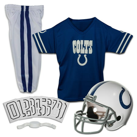 Franklin Sports NFL Indianapolis Colts Youth Licensed Deluxe Uniform Set, Medium