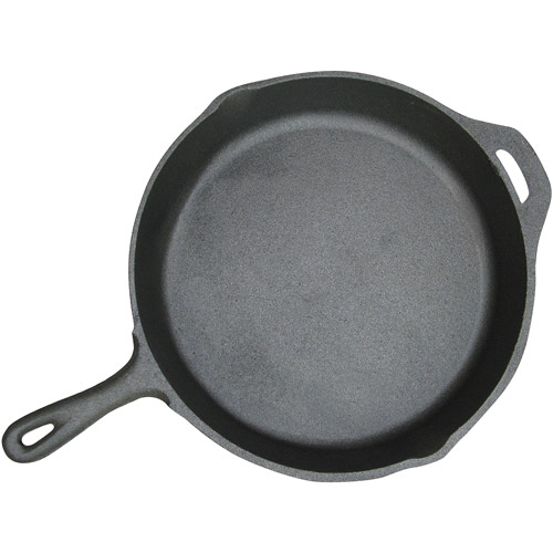 "Stansport 13"" Cast Iron Fry Pan"