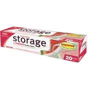 Presto 1 Gal. Reclosable Food Storage Bag (20 Count) CO03713S