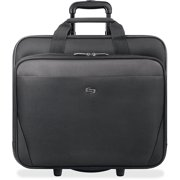 Solo USLCLS9104 US Luggage Classic Laptop Rolling Case, Black