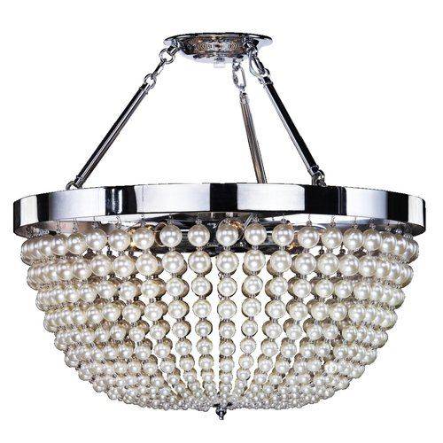 Glow Lighting Moscato 6-Light Semi Flush Mount