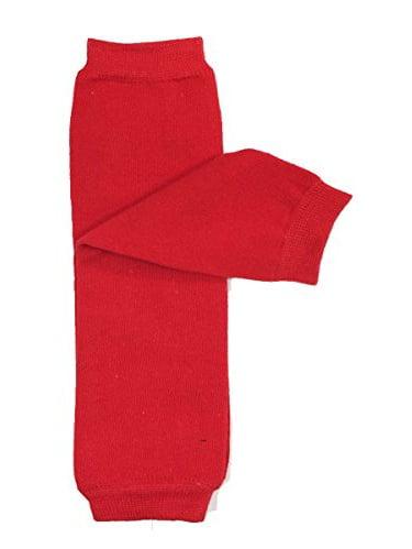 ALLYDREW Solid Baby Leg Warmer & Solid Toddler Leg Warmer for Boys & Girls (Solid Red)