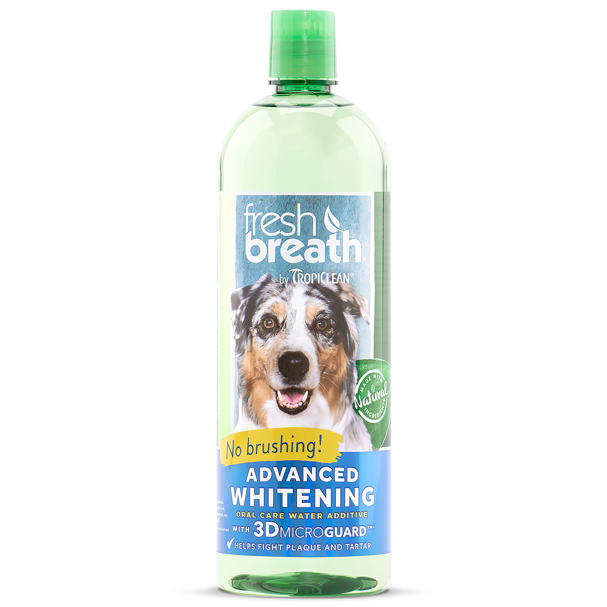 Fresh Breath by TropiClean Advanced Whitening Oral Care Water Additive, 33.8 Oz