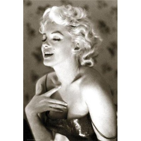 Marilyn Monroe Glow Film Movie Poster 24X36 Inch