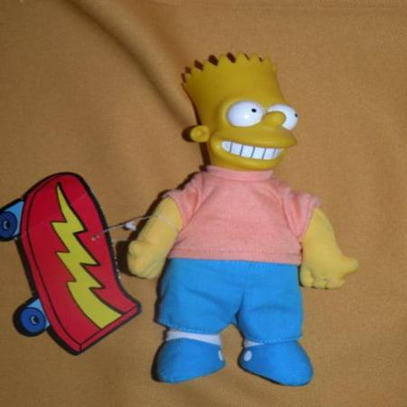 Simpsons Burger King Bart Plush (Simpsons Halloween Burger King Toys)