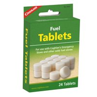 Coghlan's Fuel Tablets 24 Pack Emergency Cooking Stove Hiking Camping Survival