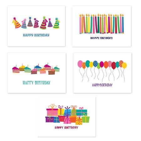 Assorted Set of 50 Birthday Postcards -  Happy Birthday Postcards](Happy Halloween Postcards)