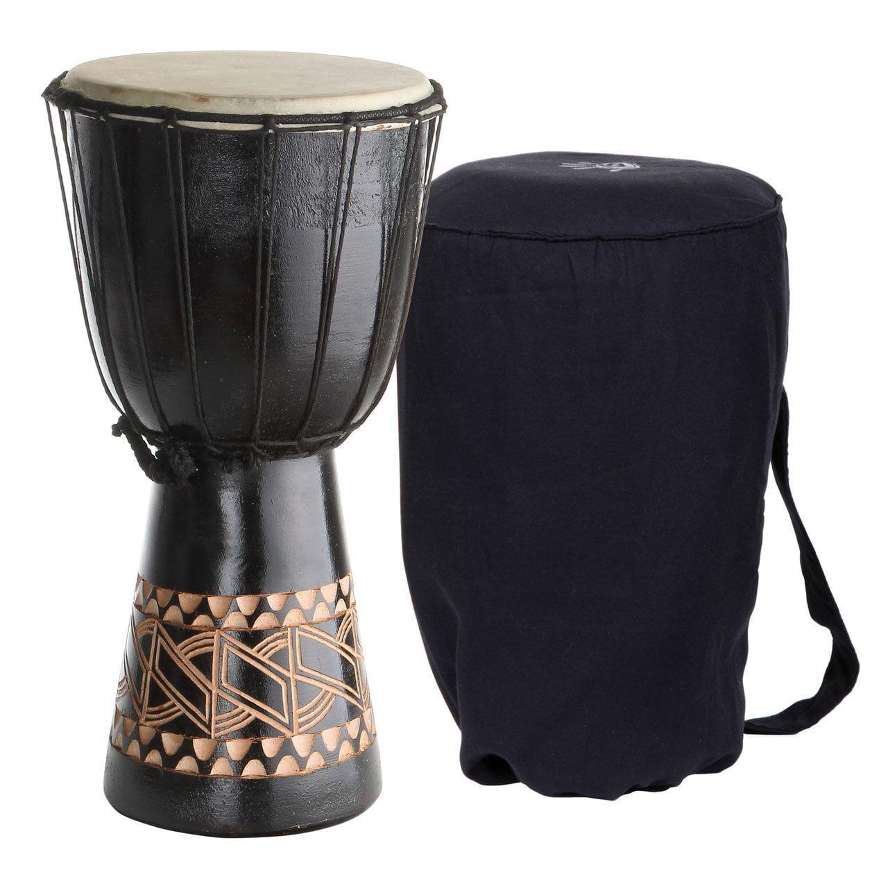 Small Djembe Drum, X8 Tribal Backpacker Small 16 Inch Dje...