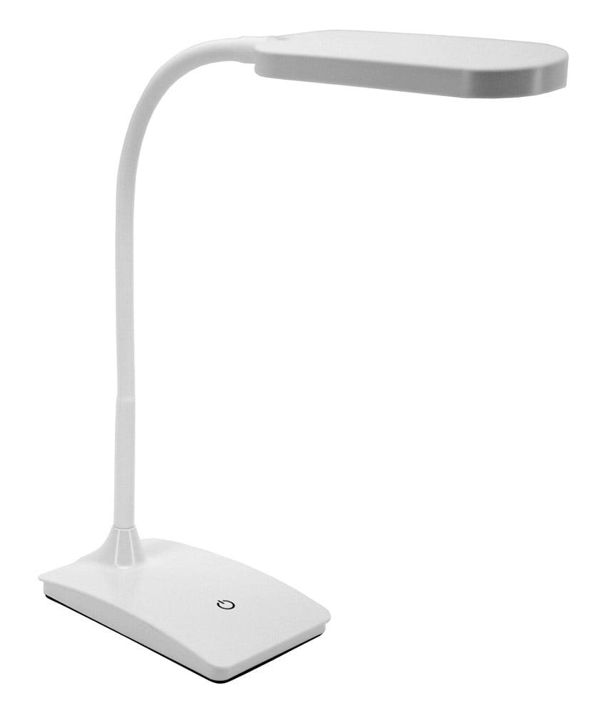 IVY LED USB Desk Lamp   White   Walmart.com