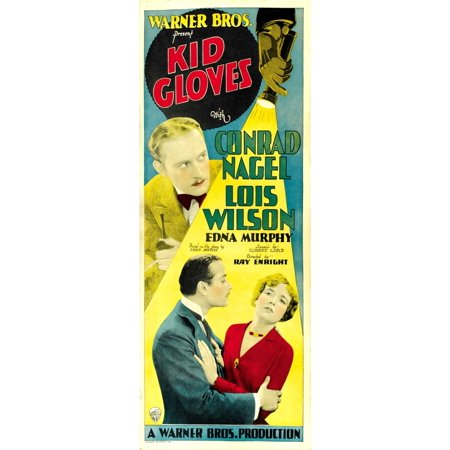 Kid Gloves Top Congrad Nagel Bottom From Left Conrad Nagel Lois Wilson On Insert Poster 1929 Movie Poster Masterprint