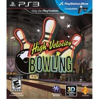 High Velocity Bowling PS3 Video Game Sony