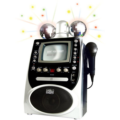 Singing Machine Disco Lights CDG Karaoke System (SML390)