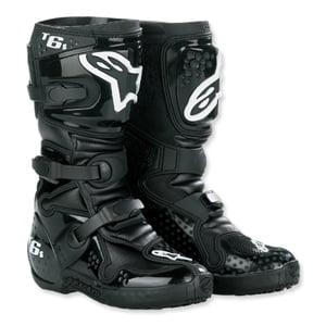 Alpine stars Tech 6S Youth MX Boots Black
