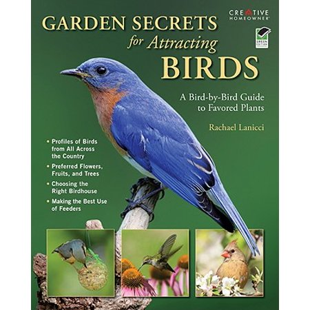Garden Secrets for Attracting Birds : A Bird-By-Bird Guide to Favored