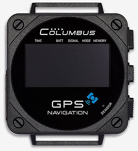 Columbus V-1000 GPS Data Logger + Barometric Pressure, Altitude, Speed & Temperature Data Logger (