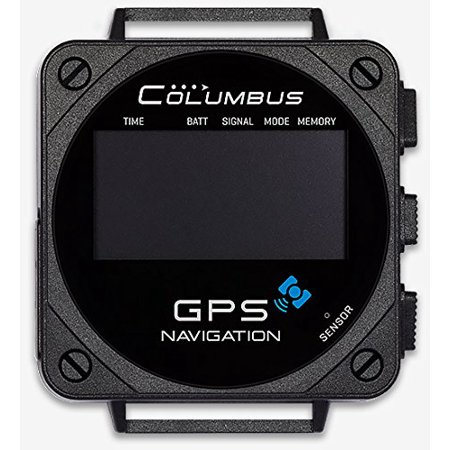 Columbus V-1000 GPS Data Logger + Barometric Pressure, Altitude, Speed & Temperature Data Logger (Barometric Sensor, Temperature Sensor, POI Navigation, GPS time, Windows, MacOS and Linux Compatible)