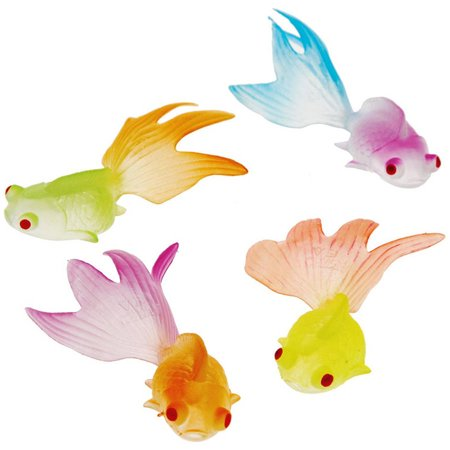 Glow in the Dark Goldfish, 12pk - Party Glow In The Dark