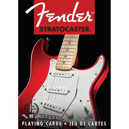 Fender Stratocaster Playing Cards, Guitars by NMR Calendars