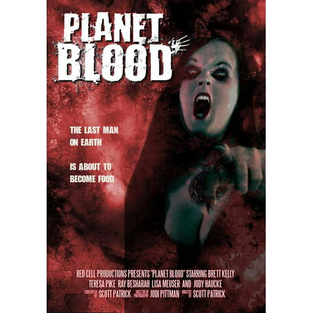 Planet Blood Poster Movie  27X40