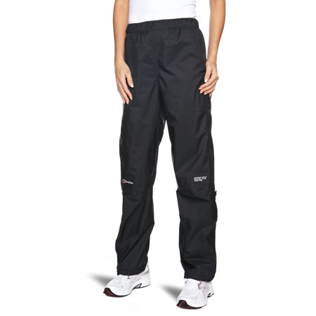 Berghaus Women's Paclite Gore-Tex Waterproof Pants Black