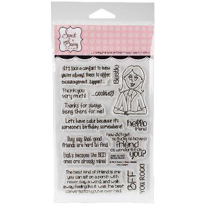 "Sweet 'n Sassy Clear Stamps 4""X6""-Sweet Sarah"
