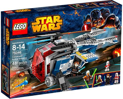 Star Wars The Clone Wars Coruscant Police Gunship Set Lego 75046 by