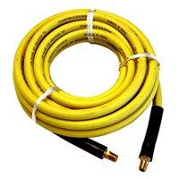 "Interstate Pneumatics HA58-100E Yellow Rhino Rubber Hose 1/2"" x 100 feet 300 PSI 4:1 Safety Factor"