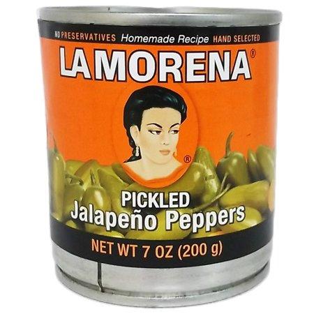 New 809059 La Morena Whole Jalapenos 7Oz (24-Pack) Spices Cheap Wholesale  Discount Bulk Food Spices Brownie