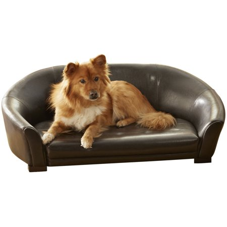 Enchanted Home Pet Artemis Bed, 33 by 20 by 15-Inch, Brown