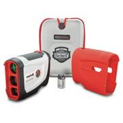 Bushnell Golf Tour V4 Shift Laser Rangefinder with Slope-Switch, White/Gray