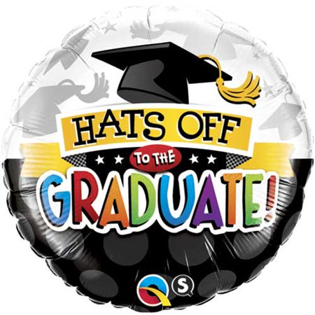 Qualatex Graduation Hats Off To The Graduate 18