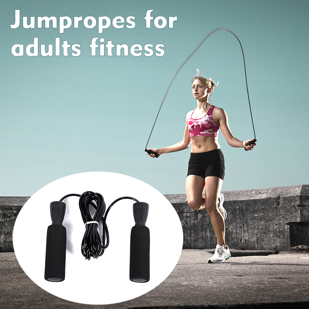 Skipping Rope W// Counter Jump Exercise Boxing Gym Fitness WorkOut Adult /&Kids
