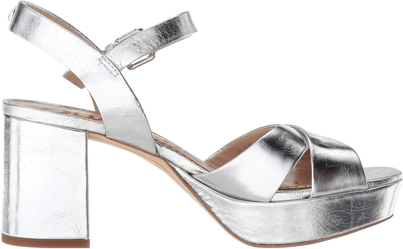 Jolene Platform Sandals, Silver