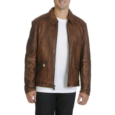 - Boston Harbour  Vintage Men's Leather Jacket