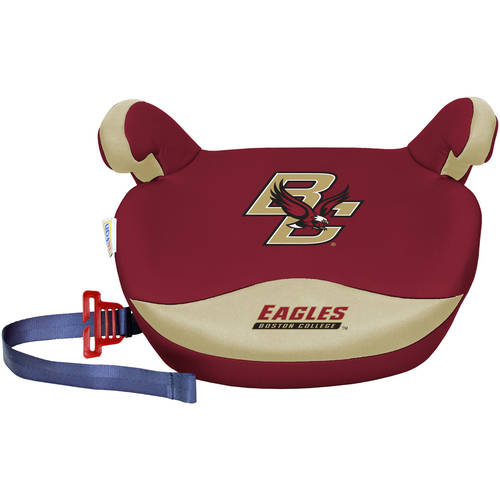 Lil Fan NCAA Collegiate Licensed No Back Booster Car Seat Collection