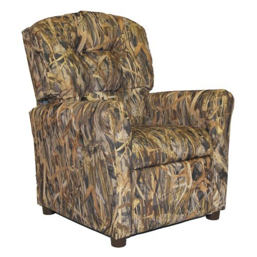 Brazil Furniture 4-Button Back Child Recliner