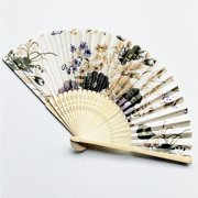 New! Hand Held Fan Foldable Fan Summer Outdoor Travel Cooling Fans Decorative Fans