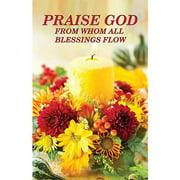 Banner-Praise God For Blessings (4' x 6') (Indoor)