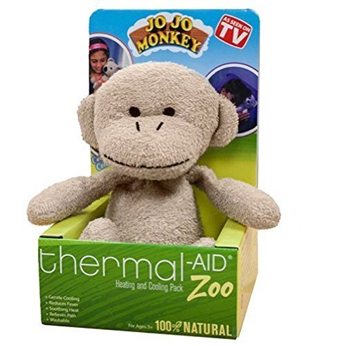 Thermal-Aid Stuffed Monkey Natural Heating & Cooling Pack