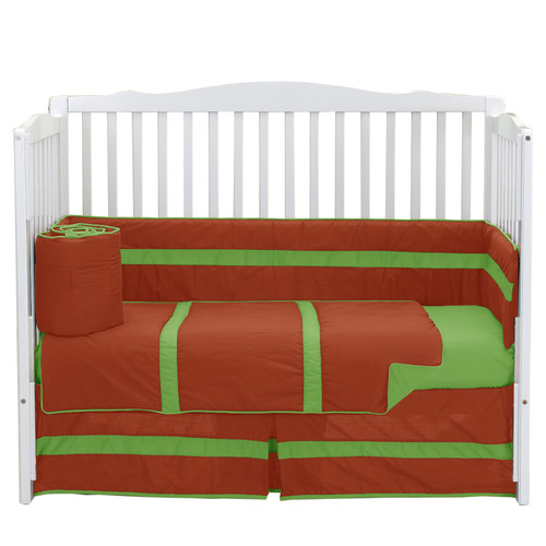 Baby Doll Bedding 4 Piece Stripe Crib Bedding Set