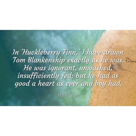 huck finn important quotes